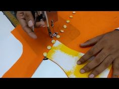 Latest piping collar neck design cutting and stitching in Hindi - YouTube