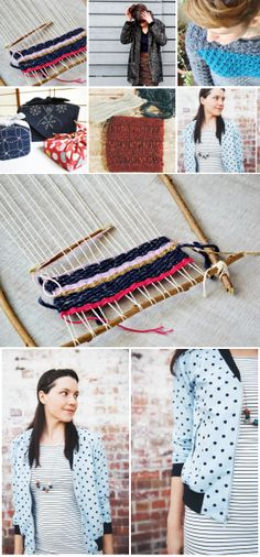 Cute DIY Projects and Tutorials! #DIY #tutorial #knit #crochet #weave #yarn #winter #how-to #fashion