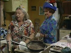 Daisy's Kitchen Bbc Tv Shows, Comedy Tv Shows, British Tv Comedies, British Comedy, English Comedy, Keeping Up Appearances, Movies Playing, Keep Up, Old Movies