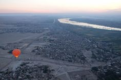 Hot Air Balloon ride. Luxor.  Genevieve Hathaway Photography and ArchaeoAdventures:Women-Powered Travel.  http://archaeoadventures.com