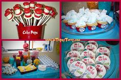 Topsy Turvey Dr. Seuss Party Food by Obseussed, via Flickr