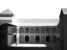 Málaga. Museo Parque de los Cuentos en el Antiguo Convento de La Trinidad / Aires Mateus + Estudio Acta (F. Javier López Rivera, Ramón Pico Valimaña). Museografía Izaskun Chinchilla.