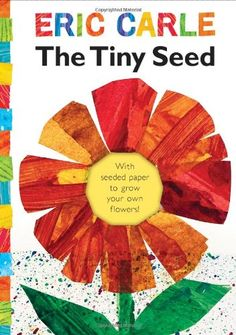 K-3rd grade. This book tells the life cycle of a flower starting with a tiny seed and includes a piece of detachable seed embedded paper to plant and watch your own wildflowers grow. This book has language arts and science. This book presents science in an interesting way and does not just detail the scientific principles, but makes it into an engaging experience by adding drama and life lessons.