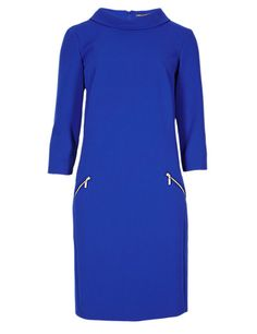 Collar Tunic Dress | M&S