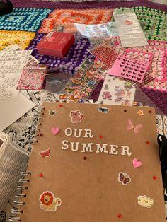 Summer Dream, Summer Fun, Summer Baby, Summer Feeling, Summer Vibes, Arte Sketchbook, Summer Goals, Summer Bucket Lists, Scrapbook Journal