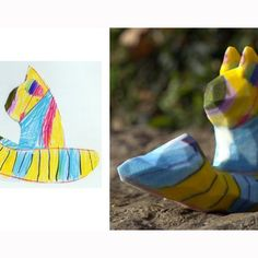 3D print service turns children's drawings into sculptures