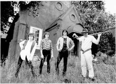 R.E.M.: In Athens, Ga., in 1985 ~ Bill Berry, left, Mike Mills, Peter Buck and Michael Stipe