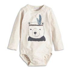 Bodysuit, Beige, Baby 0-1 Year, Kids | Lindex