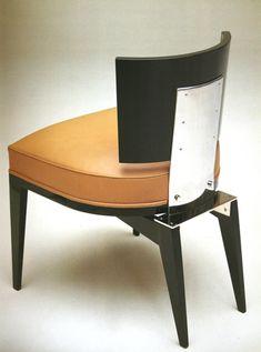 Desk Chair by Paul Dupré Lafon