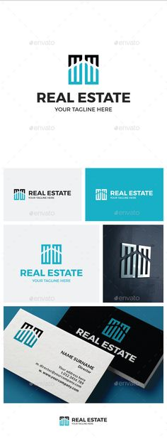 Real Estate Logo Template #design #logotype Download: http://graphicriver.net/item/real-estate-logo/13719067?ref=ksioks