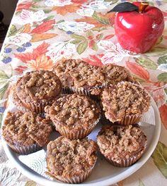 Apple Pie Crumble Muffins