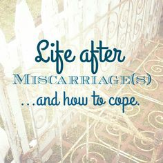 Sometimes life throws us a curve ball in the form of an unsuccessful pregnancy. Forcing us into a club none of us want to be a part of, Miscarriage.