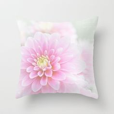 "Beauty IV by Sharon Mau  THROW PILLOW / COVER (20"" X 20"") WITH PILLOW INSERT $35.00 http://society6.com/SharonMau/Beauty-IV_Pillow#18=131    Lovely pastels with soft textures - Blessings Photo Copyright © Sharon Mau"