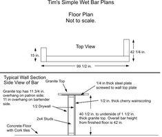 39 best Bar Plans images on Pinterest | Home bar plans, Wood and Bar ...