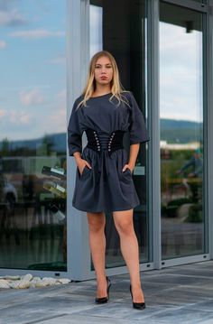 Shirt Dress, Silver, Shirts, Collection, Dresses, Fashion, Vestidos, Moda, Shirtdress