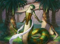 Amonkhet, Naga, Yuan-ti, dungeons and dragons, LOTR, D&D, dnd, DnD,
