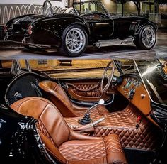That interior in Shelby Cobra! Das Interieur in Shelby Cobra! Auto Jeep, Jeep Pickup, Dream Cars, Bmw Autos, Auto Retro, Classic Sports Cars, Toyota Prius, Kit Cars, Amazing Cars