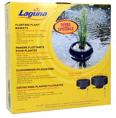 Laguna Woven Fabric Floating Plant Basket Kit > Unbelievable product right here! : Gardening DIY