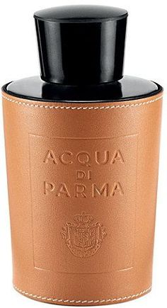 Acqua Di Parma Leather Bottle Holder - for Men Best Perfume For Men, Best Fragrance For Men, Best Fragrances, Perfume And Cologne, Perfume Bottles, Men's Cologne, Dior Perfume, Aftershave, Stitching