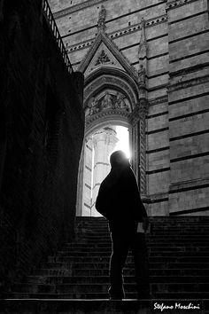 Verso la luce; Foto di Stefano Moschini; #Siena #Toscana #ScalinataDelDuomo