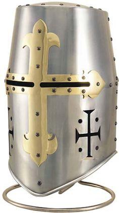 Templar Knight Great Helm Helmet by Marto
