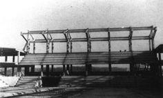 Pavillón deportivo municipal   Alejandro de la Sota   Pontevedra (1965)   foto de obra