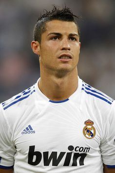 Full Name: Cristiano Ronaldo dos Santos Aveiro Birth date: February 5th, 1985 Birthplace: Funchal, Madeira - Portugal  Height: 186 cm (1m 86cm) Weight: 84 kg Field position: Left/right winger, striker/forward First professional club: Sporting Clube de Portugal Career debut: October 7th 2002, against Moreirense Current club: Real Madrid (since 2009)  International team: Portugal