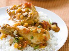 Traum in süß-sauer:Curry-Hähnchen mit Reis - smarter - Zeit: 30 Min. | eatsmarter.de