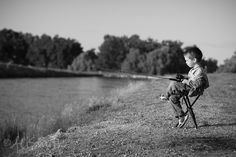 this will be my little boy fishing with Dad :)