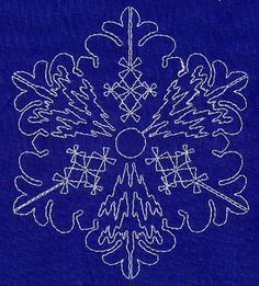 Sashiko Snowflake 7