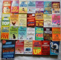 Janet Evanovich lot of 27. $16.99