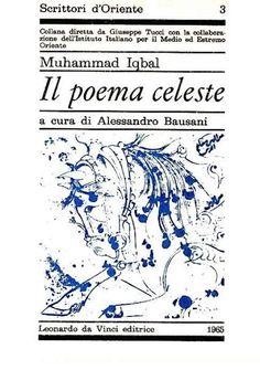 Il poema celeste - Muhammad Iqbal - Prima edizione