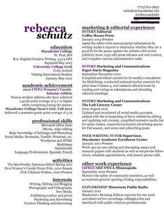 My Social Media Marketing Resume | My Social Media Marketing ...