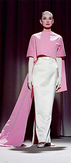 Audrey Hepburn from Funny Face. Costume design by Edith Head-Hubert de Givenchy