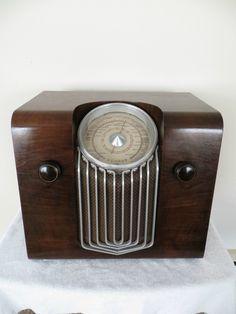 Vintage 1937 Schaub Lorenz German Art Deco Old Depression Era Antique Tube Radio | eBay ............................................................Please save this pin... ........................................................... Visit!.. http://www.ebay.com/usr/prestige_online