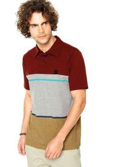 Camisa Polo Hang Loose Dijon Multicolorida
