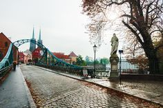 Ostrów Tumski Wrocław - Most Zakochanych
