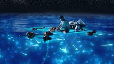 Vaadhoo is one of the inhabited islands of Raa Atoll, Maldives. Vaadhoo island is famous for the 'sea of stars.' This marine bioluminescence is generated by . Life Of Pi, The Life, Isla Vaadhoo, Oscar 2013, Sea Of Stars, Maldives Beach, Ang Lee, Natural Wonders, Cinematography