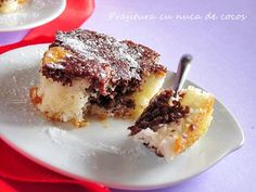 Delicious Deserts, Pastry Cake, Coco, Fudge, Nutella, Dairy Free, Food And Drink, Ice Cream, Cooking Recipes