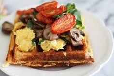 RUSTIC CORN BREAD RECIPES | cornmeal waffles