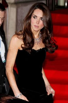 Kate Middleton In Alexander McQueen At The Sun Military Awards, December 2011 ~ hair color