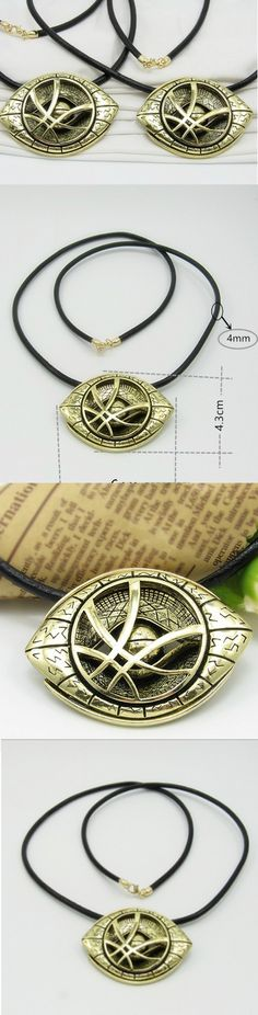 Doctor Strange Antique Bronze Pendant Leather Cord Necklace! Click The Image To Buy It Now or Tag Someone You Want To Buy This For. #DoctorStrange