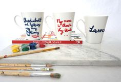 Put your favorite quote on your mug.