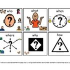 WH questions Visual Cues (Autism)