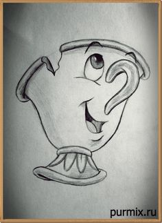 Comment dessiner une puce de Beauty and the Beast Best Picture For art dessin abstrait For Your Tast Disney Character Drawings, Disney Drawings Sketches, Cute Disney Drawings, Art Drawings Sketches Simple, Pencil Art Drawings, Easy Drawings, Art Sketches, Drawing Disney, Drawings Of Disney Characters