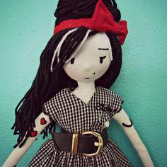 #Amy #fabricdolls #bonecadepano