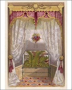 Photographic Print of Wardian case containing ferns, in a window from Mary Evans by Mary Evans, http://www.amazon.com/dp/B0061G1JS4/ref=cm_sw_r_pi_dp_eqC6qb17V5BPY