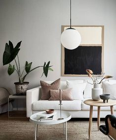 Minimal studio home - COCO LAPINE DESIGN - Expolore the best and the special ideas about Home interior design Living Room Interior, Home Living Room, Home Interior Design, Living Room Designs, Living Room Decor, Bedroom Decor, Nordic Living Room, Studio Interior, Decor Room