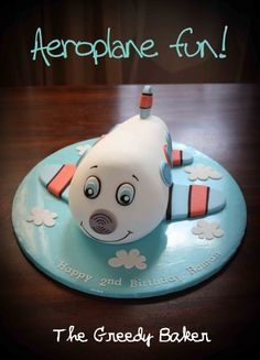 Aeroplane Cake By TheGreedyBaker on CakeCentral.com