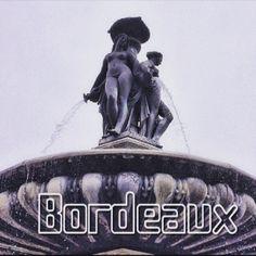 Бордо и его фонтаны ! :) #GourmetFeastVoyage & www.ru-france.com